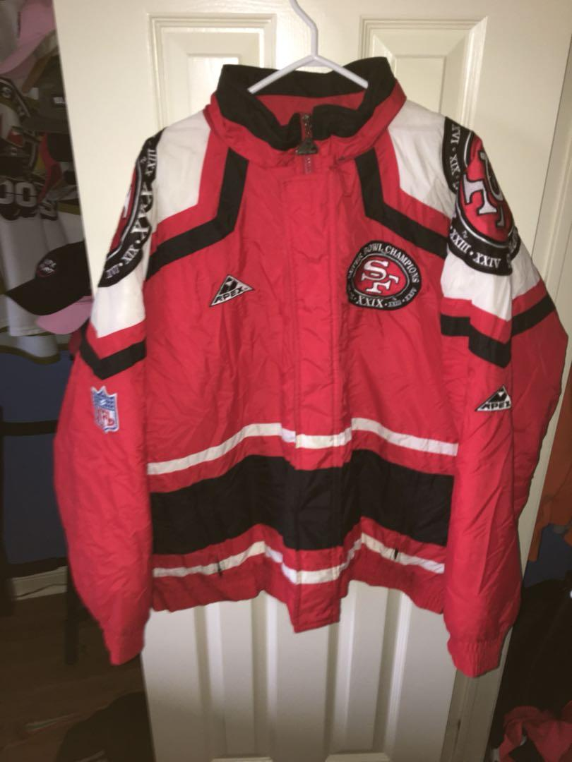 Apex NFL Pro Line San Francisco 49ers Super Bowl Champions Jacket