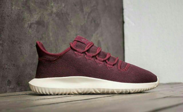 nouveau style b4c70 12ca2 Authentic Adidas Tubular Shadow - Maroon, Luxury, Shoes on ...