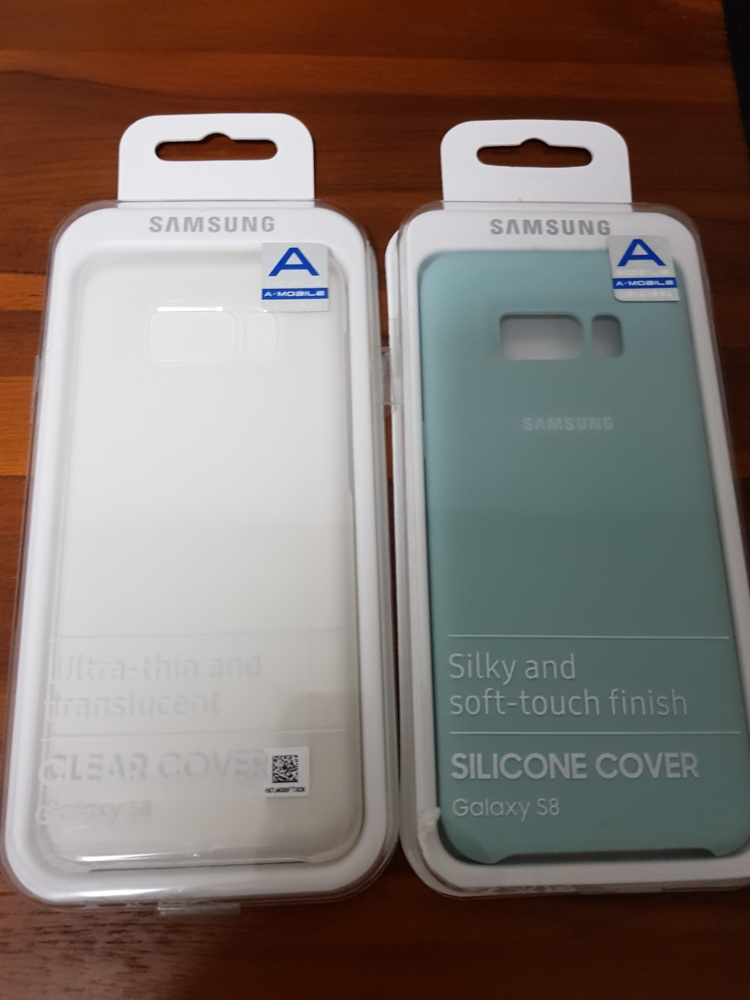 new product 2db15 e5ffb Authentic Samsung S8 Clear or Silicone Cover