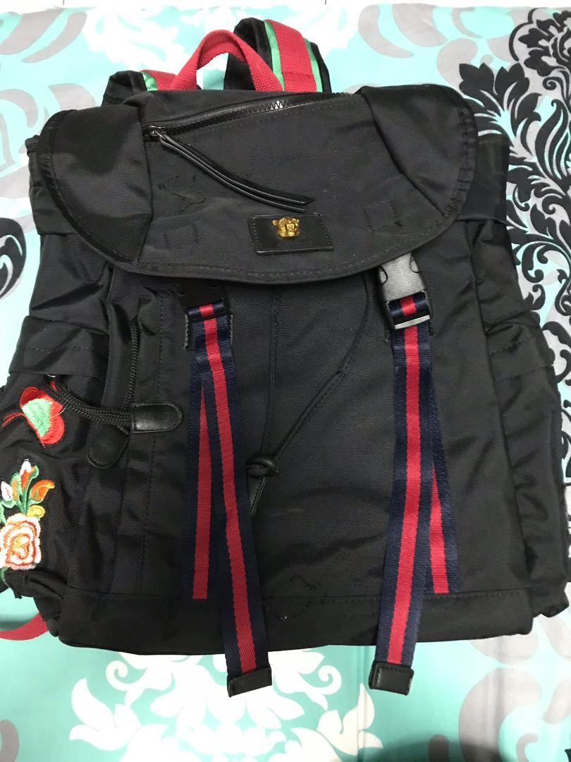 dfa7cedad33b Backpack Gucci, Men's Fashion, Bags & Wallets, Backpacks on Carousell