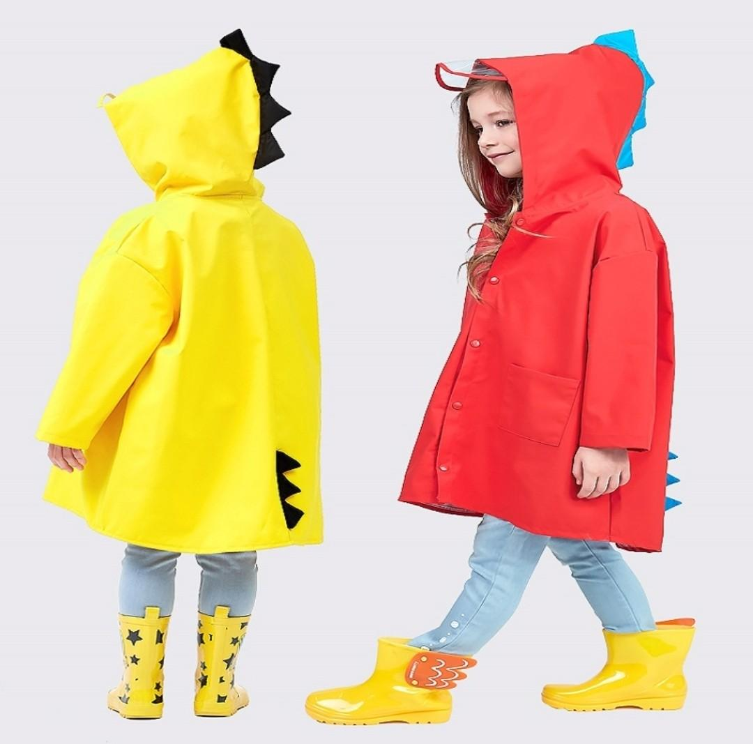b8226973f 2 to 9 Years Old 3D Dinosaur Raincoat Dinosaur Rain Coat Good ...