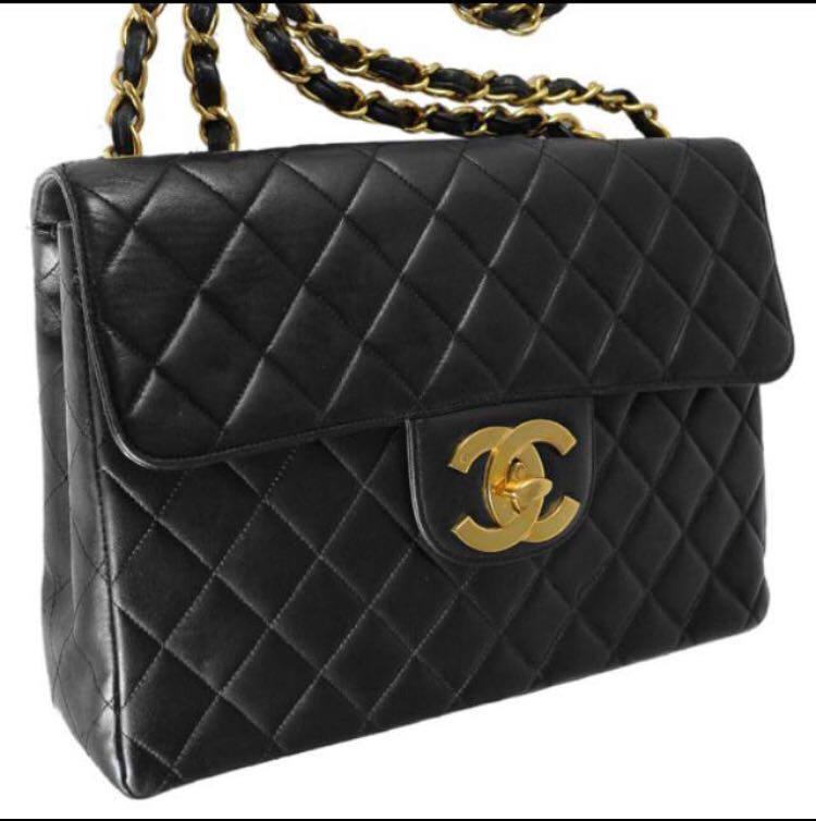 cdec0852ca4dad Chanel vintage flap bag, Luxury, Bags & Wallets, Handbags on Carousell