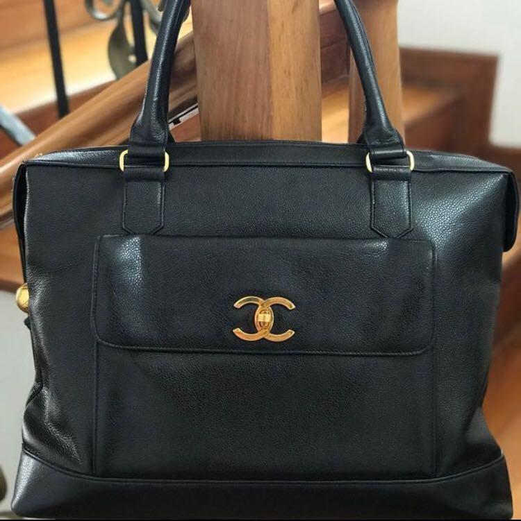 3af38185c155 Chanel vintage travel / office bag, Luxury, Bags & Wallets, Handbags ...