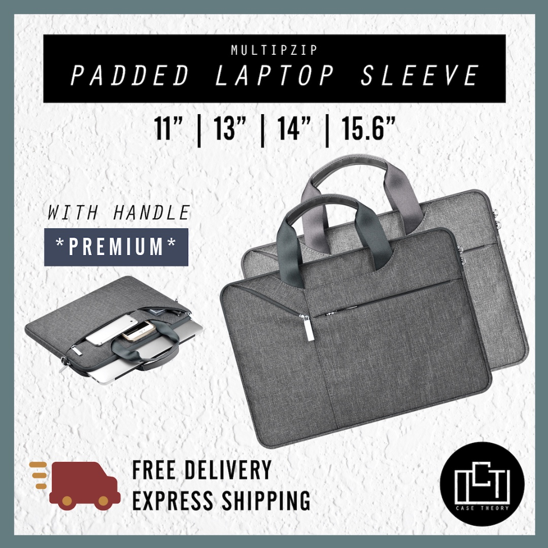 2f65aaf97286 🔅cT🔅 NON SLING carrying handle new laptop sleeve bag all laptops ...