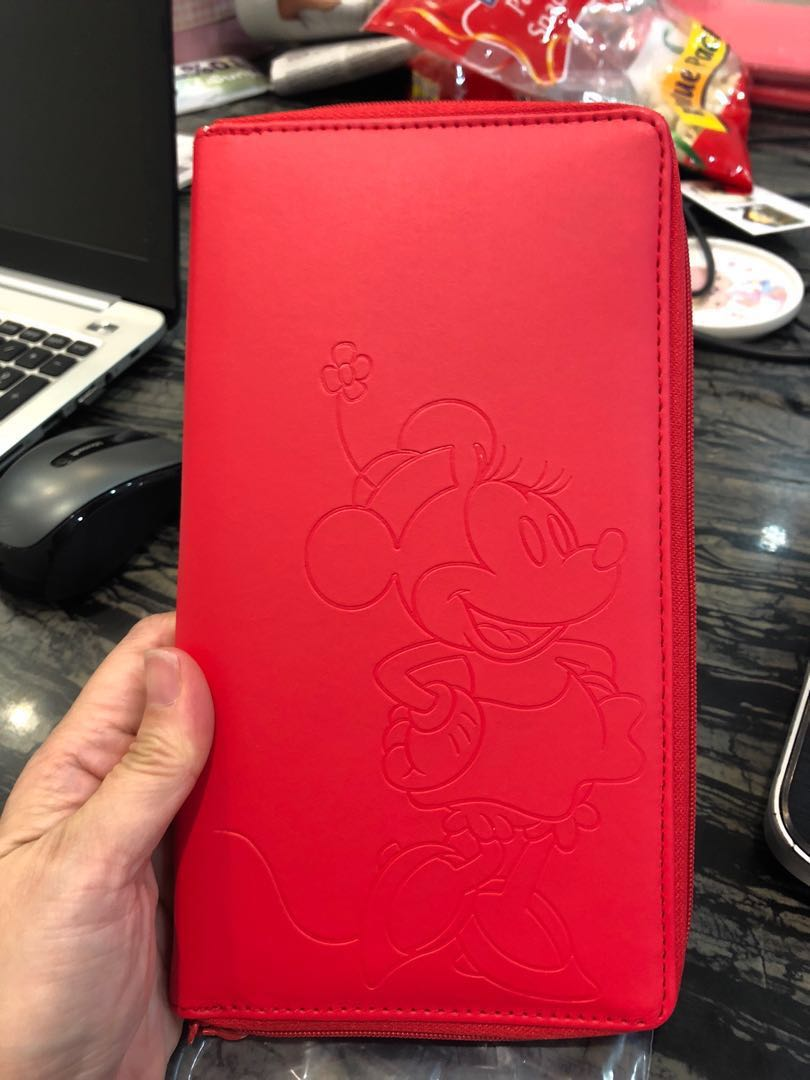 97cb68479856 Disney Red Wallet