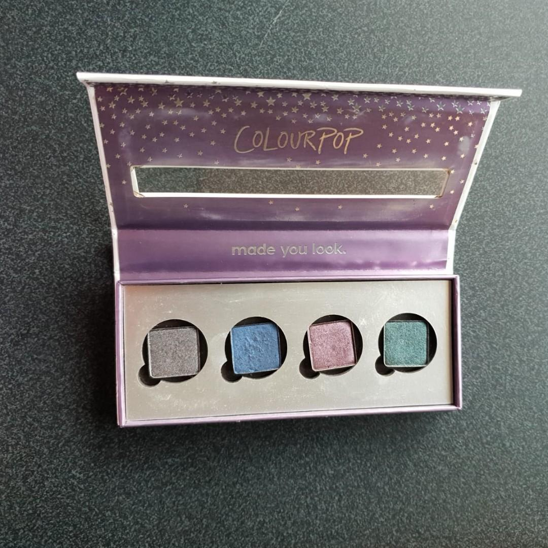 Empty colourpop magnetic palette + Urban Decay eyeshadows!