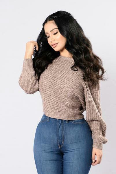 Fashion Nova Off Balance Sweater
