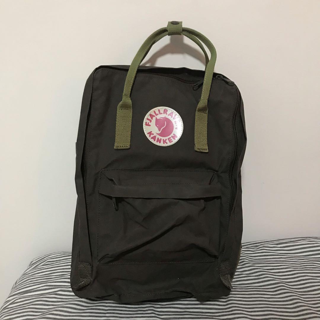 Fjällräven Kånken 15 Inch Laptop Bag, Women s Fashion, Bags   Wallets,  Backpacks on Carousell dcb884108d