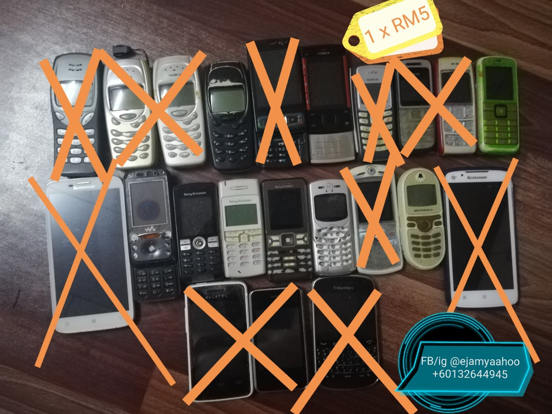 Handphone Lama Rosak Mobile Phones Tablets Others On Carousell