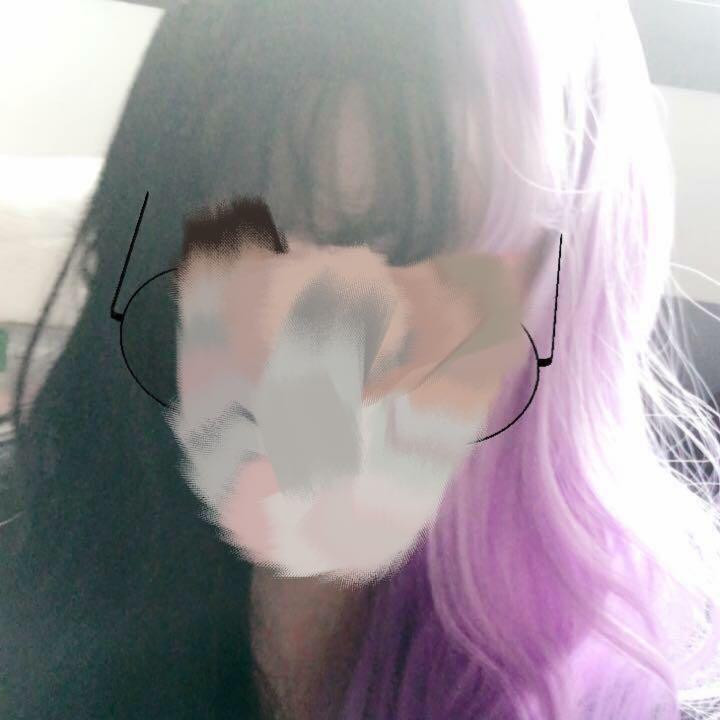 Harajuku Two Colour Spilt Wavy Wig
