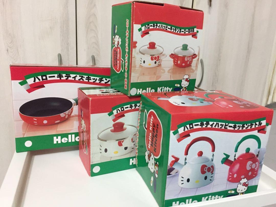 Hello Kitty S Kitchen Cook Set Home Appliances Kitchenware