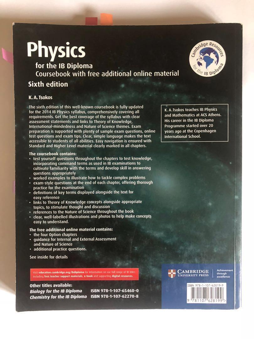 IB Physics Textbook, Books & Stationery, Textbooks, Tertiary