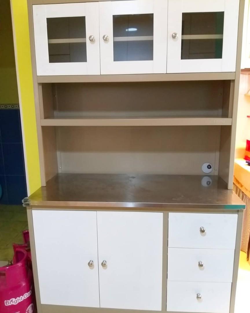 Informa metal kitchen set home furniture on carousell