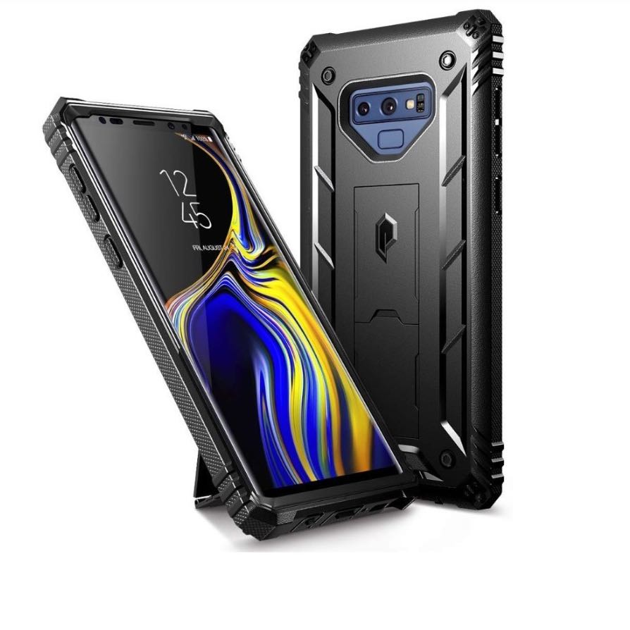separation shoes 16a11 3f4ea [IN-STOCK] Galaxy Note 9 Rugged Case, Poetic Revolution [360 Degree  Protection] [Kick-Stand] Full-Body Rugged Heavy Duty Case with  [Built-in-Screen ...