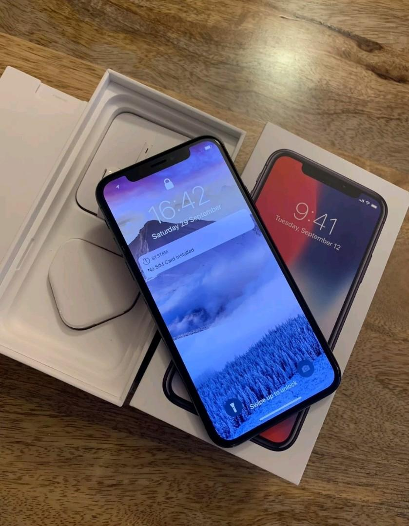 IPhone X 256GB space grey, unlocked