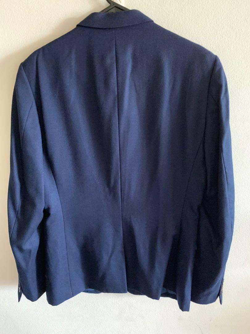 Jack London Navy Men's Suit Blazer and Pants