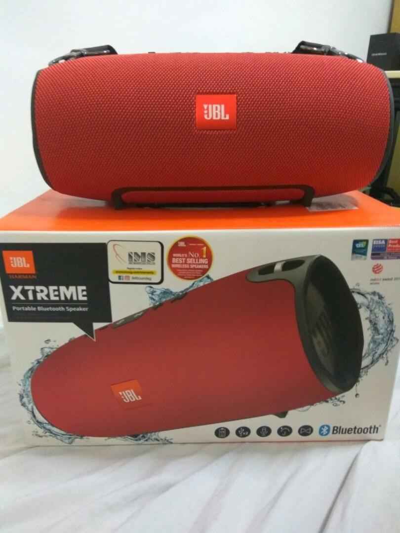 JBL Xtreme Bluetooth speakers, Electronics, Audio on Carousell