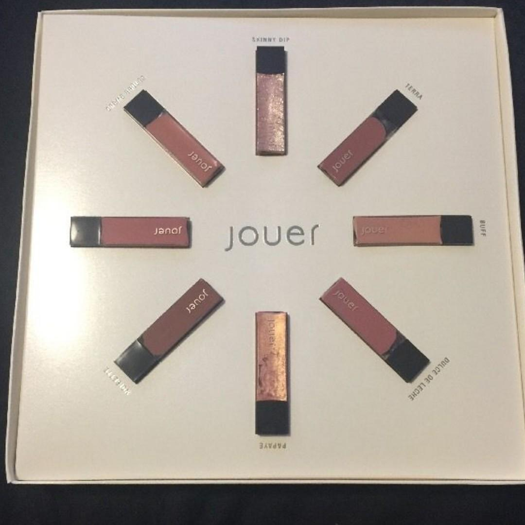 Jouer Best Of Nudes Mini Gift Set LIMITED EDITION BRAND NEW & AUTHENTIC (PRICE IS FIRM, NO SWAPS)