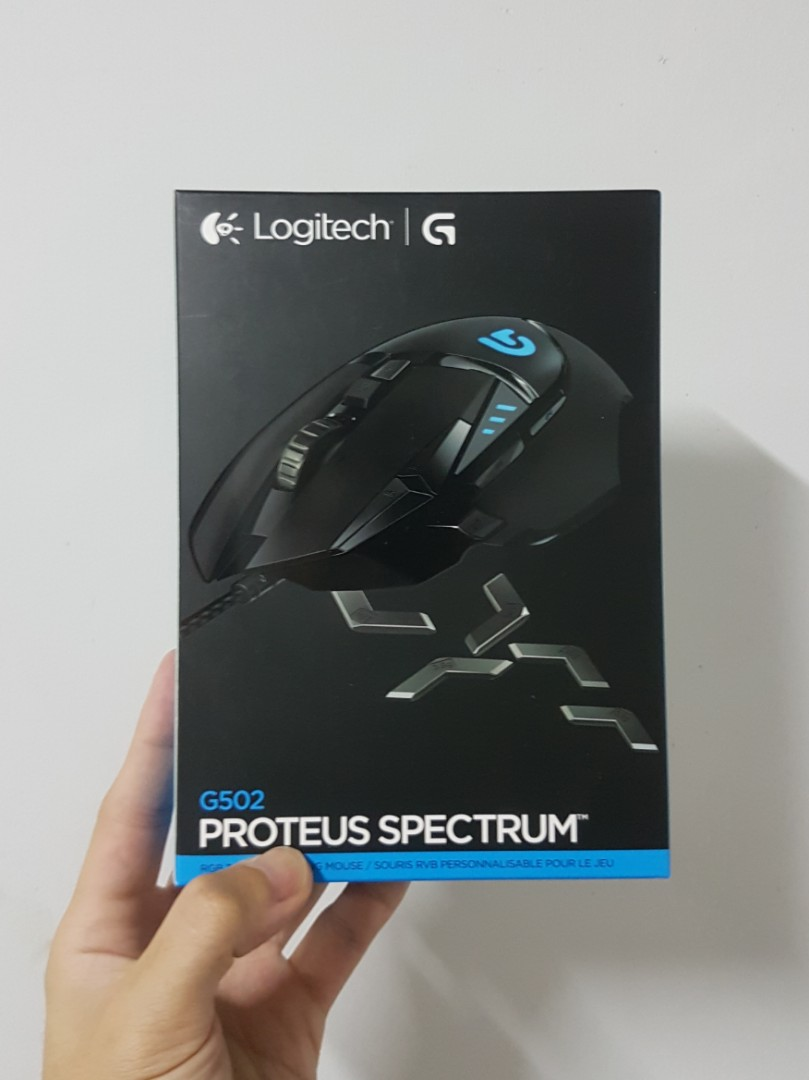 9bb72adf887 Logitech G502 Proteus Spectrum RGB Tunable Gaming Mouse, 12,000 DPI ...