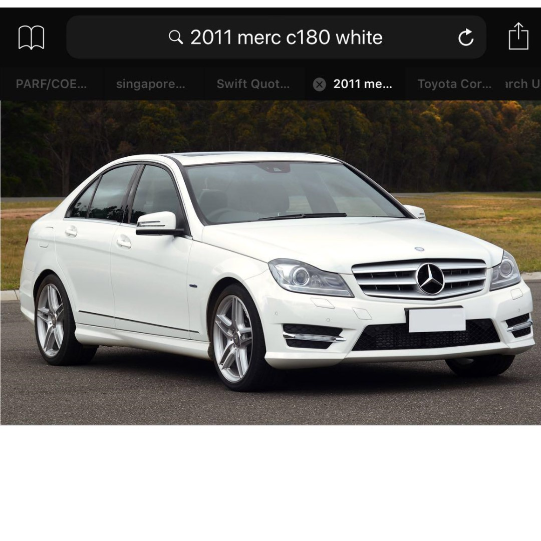 Merz C180, Cars, Vehicle Rentals On Carousell