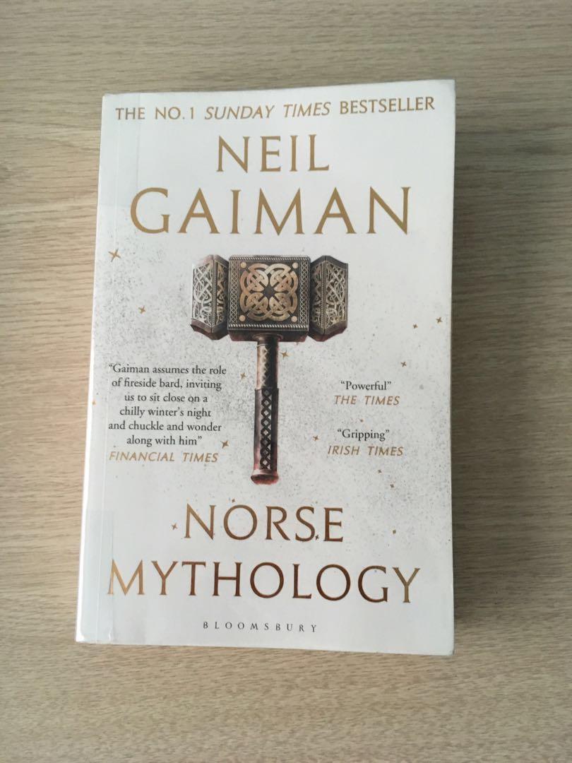 Neil Gaiman Norse Mythology, Books & Stationery, Fiction on