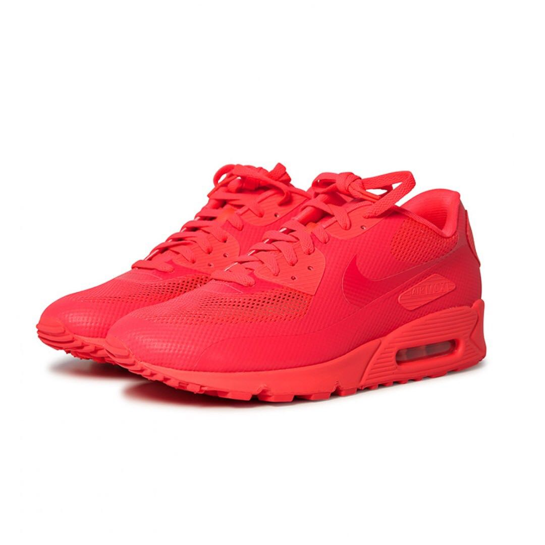8341e654 Nike Air Max 90 Hyperfuse PRM (Solar Red), Men's Fashion, Footwear ...