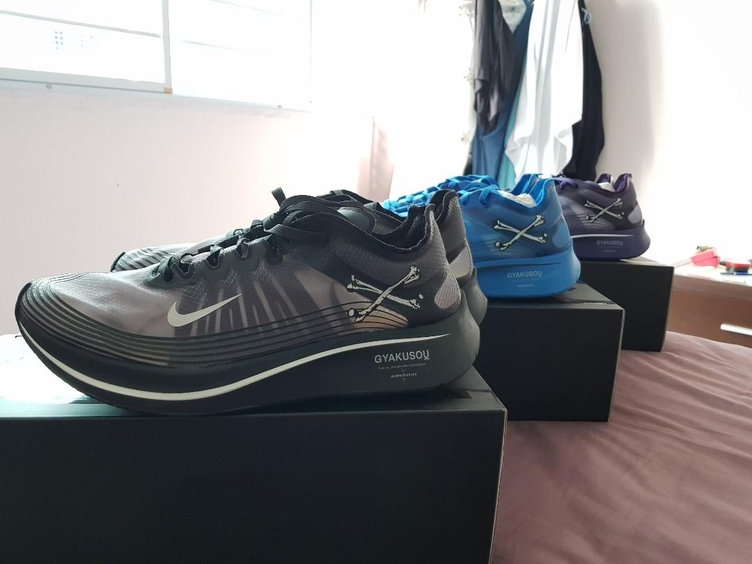 9e4d29a49 Nike x gyakusou undercover zoom fly SP, Men's Fashion, Footwear ...