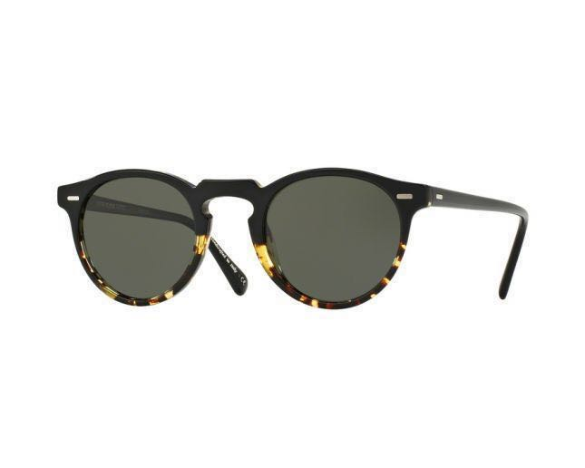 c013e2383309 Oliver Peoples Gregory Peck Sun Polarized Sunglasses