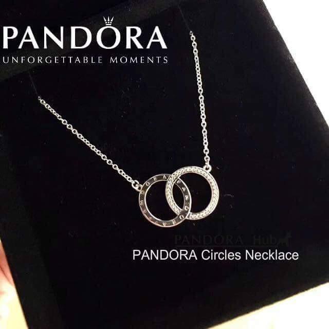 958cd6163e707 Pandora Circles Necklace