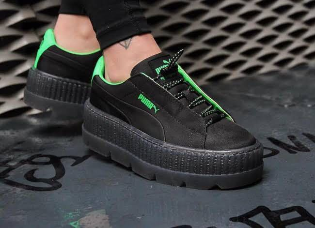 PUMA X FENTY BY RIHANNA WOMEN S CLEATED CREEPER SURF - PUMA BLACK ... f436d9d1b