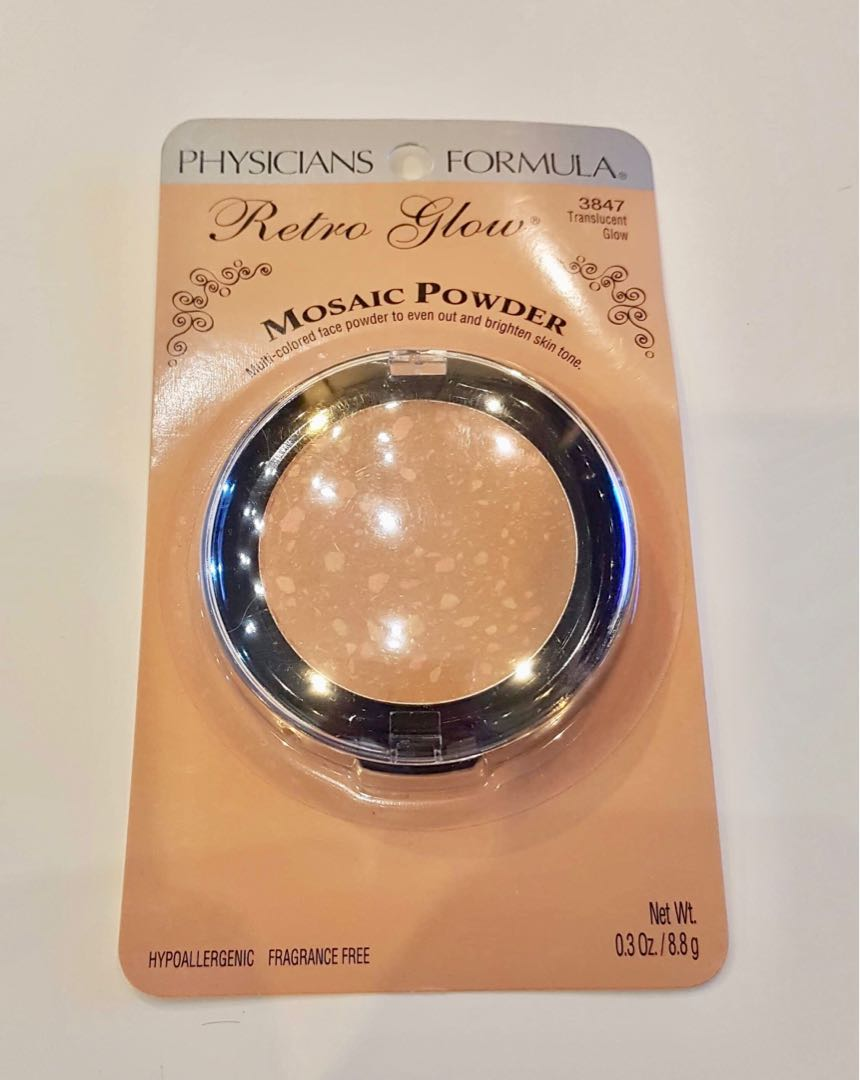 8adfe409167 Retro Glow Mosaic Face Powder, Health & Beauty, Makeup on Carousell