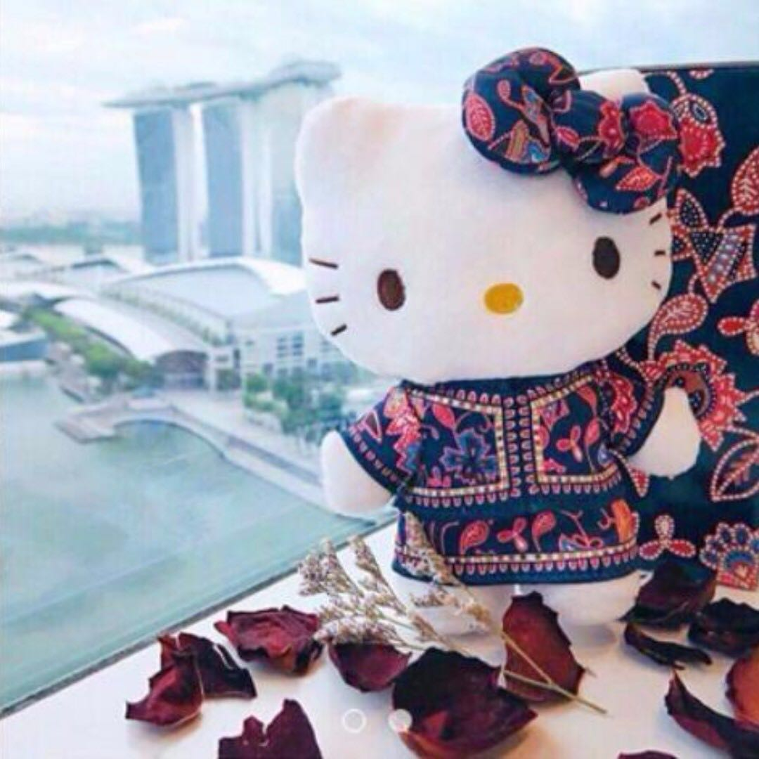 4f473288a SIA Singapore Airlines Hello Kitty Singapore Girl Air Stewardess ...