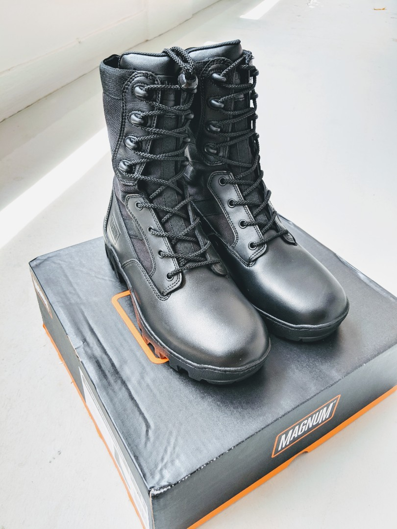 72432897a4c Spartan XTB Vibram Outsole Black (Field Combat Boots)