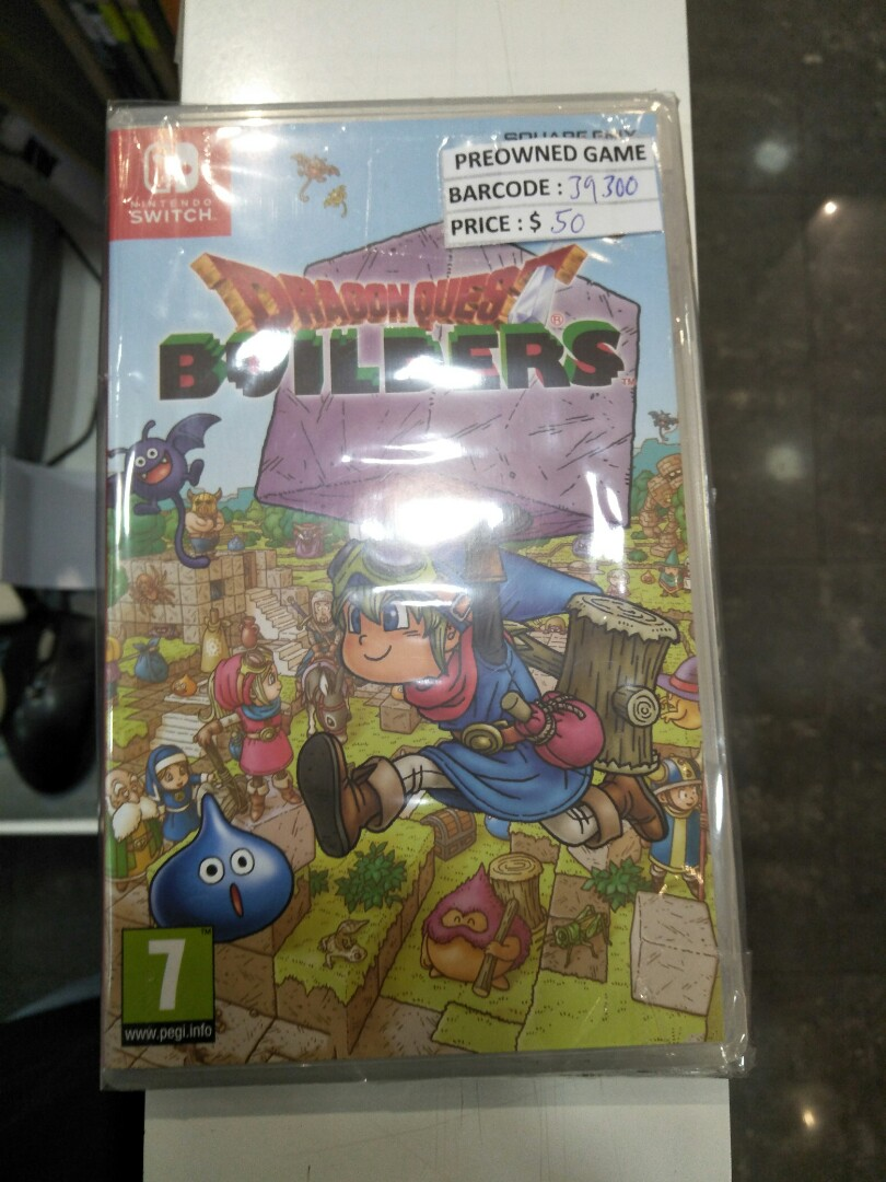 Switch dragon quest builder pre-owned