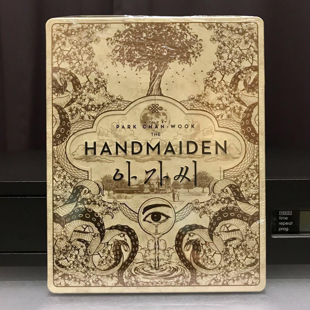 THE HANDMAIDEN Blu-ray Steelbook Limited Edition Korea 3-Disc Bluray Theatrical & Extended Edition (No Slipcover) NEW SEALED US$46 | S$60