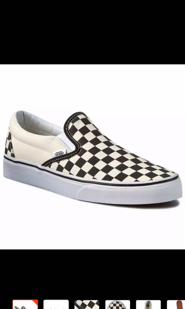 ee95d28ce56 Vans Checkerboard Slip On