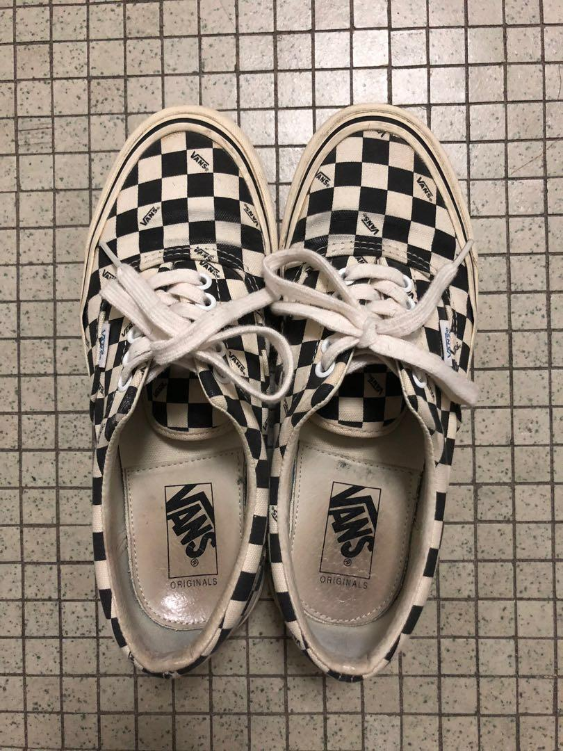jerry lorenzo vans checkerboard