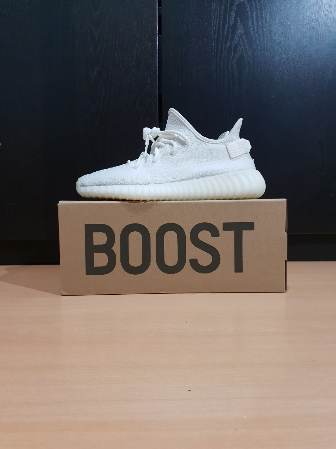 a7132217915 US10 Yeezy Boost 350 V2 Cream White