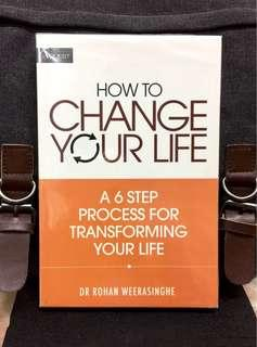 《Preloved Paperback + How To Create New Turning Point In Your Life》Dr Rohan Weerasinghe - HOW TO CHANGE YOUR LIFE : A 6-Step Process For Transforming Your Life