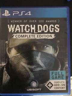 Watchdogs PS4 Games