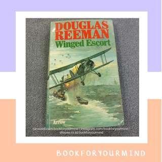 WINGED ESCORT by Douglass Reeman   English Novel   Import   Bahasa Inggris   World war 2 novel   Novel Langka   Aviasi   Navy   Pesawat   Aviation   Perang Dunia   Soldier   Tentara   Army
