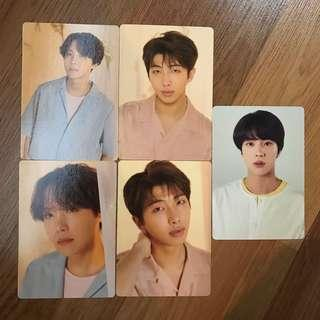 WTS/WTT BTS LOVE YOURSELF TOUR PHOTOCARDS