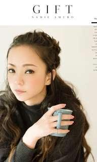 安室奈美惠Namie Amuro Gift 寫真集 內附一張相片咭 全新未拆
