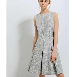 BNWT Saturday Club Kent Dress (Grey Melange)
