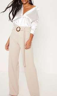 BNWT PrettyLittleThing Shell Ring Trousers