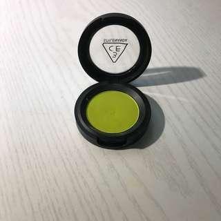 🚚 單色眼影 3ce  july lime 綠色