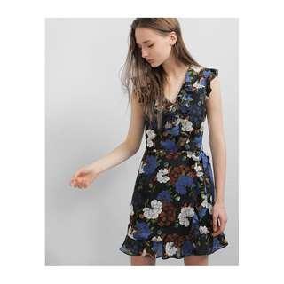BNWT Saturday Club Evanthe Dress (Garden Print)