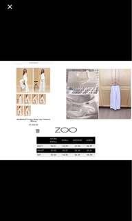 Zoo White Wide Legged Palazzo Pants