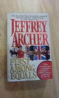 First Among Equals Jeffrey Archer