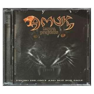 AMUK - Tanpa Prejudis 1998 EMI PROMO USE CD (1st ALBUM)